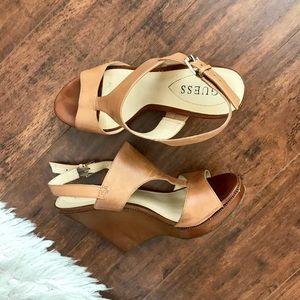 "Guess ""Francie"" Wedge Sandal"